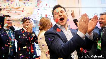 Ukraine   Präsidentschaftswahlen   Reaktion Wolodymyr Selenskyj