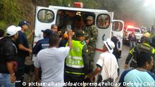 Kolumbien Erdrutsch in Popayan (picture-alliance/dpa/colprensa/Policía y Defensa Civil)