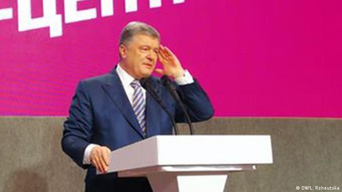 Ukraine   Präsidentschaftswahlen   Reaktion Poroschenko