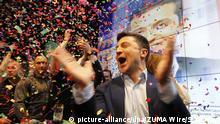 Ukraine | Präsidentschaftswahlen | Reaktion Wolodymyr Selenskyj