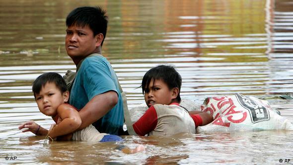 Taifun auf den Philippinen Flash-Galerie