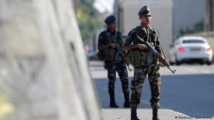 Sri Lanka Selbstmordanschlag (Reuters/D. Liyanawatte)