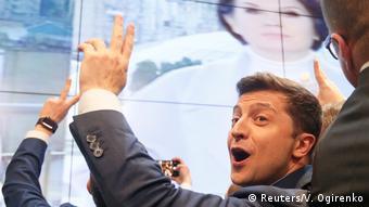 Αμηχανία μετά τον εκλογικό θρίαμβο του κωμικού ηθοποιού Βολοντίμιρ Ζελένσκι