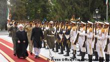 Pakistan PM Imran Khan meets Iran President Hassan Rouhani in Tehran