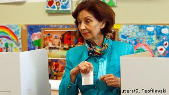 Präsidentschaftswahlen Mazedonien (Reuters/O. Teofilovski)