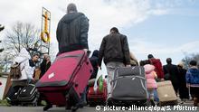 Flüchtlinge nur sehr wenige kehren nach Syrien zurück