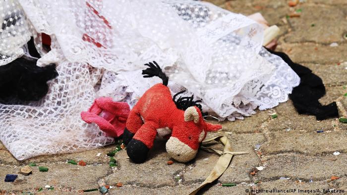 Sri Lanka Anschlag Terror Ostern (picture-alliance/AP Images/A. Taketazu)