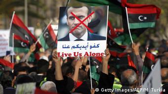 Διαδηλώσεις κατά της Γαλλίας στην Τρίπολη