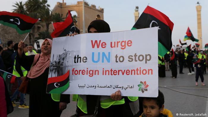 Libya: Demonstrations against Khalifa Haftar's offensive in Tripoli