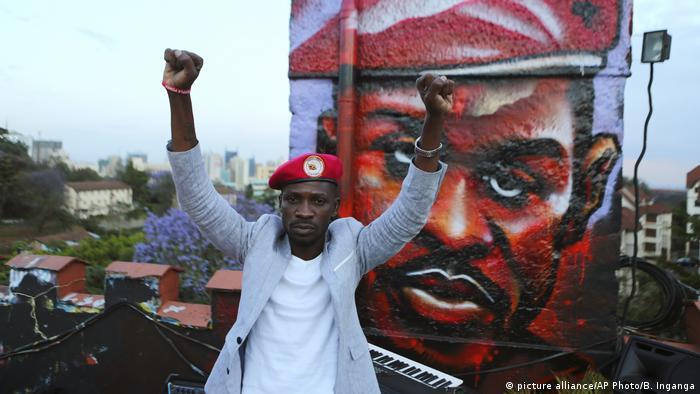 Uganda Pop Star and MP Robert Kyagulanyi, alias Bobi Wine