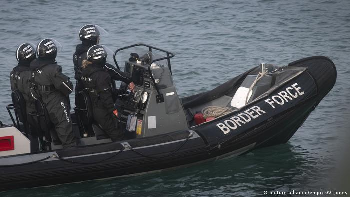 Dozens of migrants caught crossing English Channel in boats