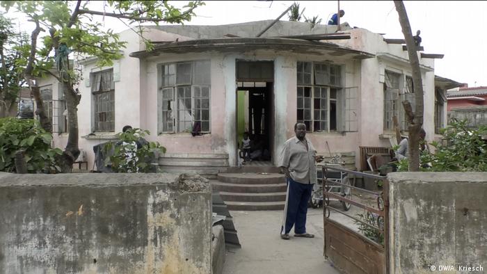 Mosambik l nach dem Zyklon l Leben ohne Dach (DW/A. Kriesch)