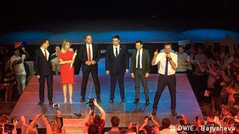 Во время встречи Алексея Навального с независимыми кандидатами в депутаты Мосгордумы, 22 апреля 2019 года