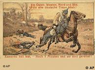 Cartão-postal da Primeira Guerra Mundial