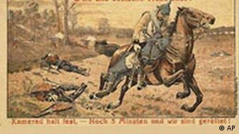 Erster Weltkrieg Postkarte