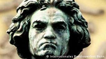 Памятник Бетховену на Мюнстерплац в Бонне. Фрагмент