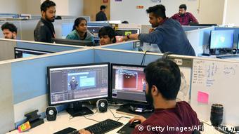 Молодые специалисты в индийской IT-индустрии