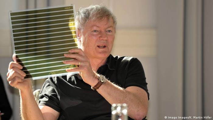 Prof Dr Michael Grätzel - Farbstoff-Solarzelle