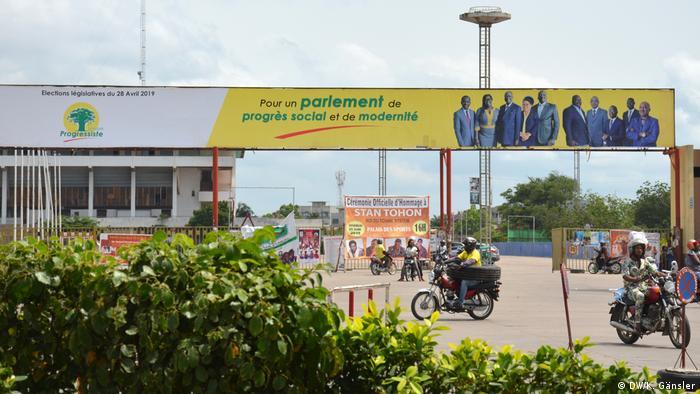 Benin Parlamentswahl | Wahlplakat