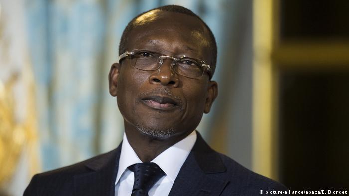 Frankreich Paris Benins Präsident Patrice Talon (picture-alliance/abaca/E. Blondet)