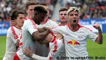 Fußball Bundesliga | 28. Spieltag | Bayer 04 Leverkusen - RB Leipzig (Getty Images/AFP/H. Bratic)