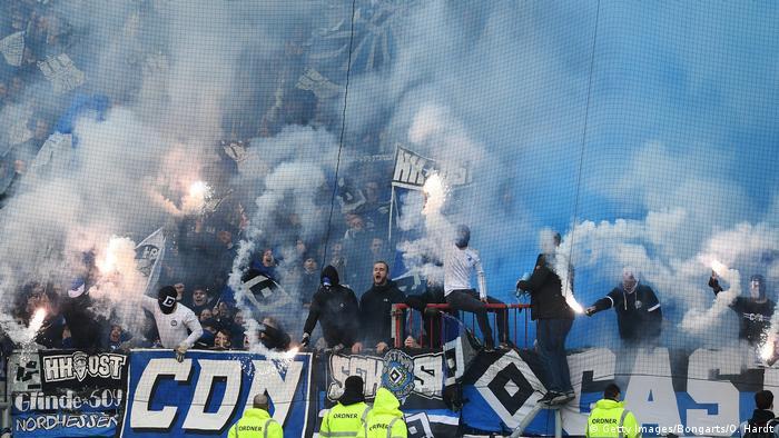 Hamburg fans have stayed loyal despite a lack of success.