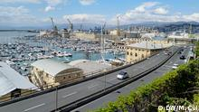 Italien Hafen in Genua