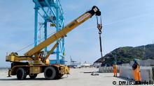Italien Hafen in Vado Ligure