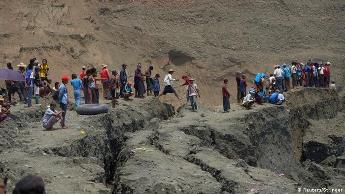Tote und Vermisste nach Erdrutsch in Myanmar