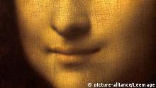 Detail der Mona Lisa