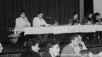 Zebranie założycielskie grupy Demokratie Jetzt 1990
