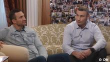 DW interview with Wladimir und Vitali Klitschko (DW)