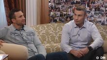 DW Nemtsova - Interview mit Wladimir und Vitali Klitschko