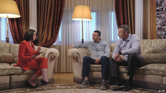 Interview with Wladimir and Vitali Klitschko (DW)