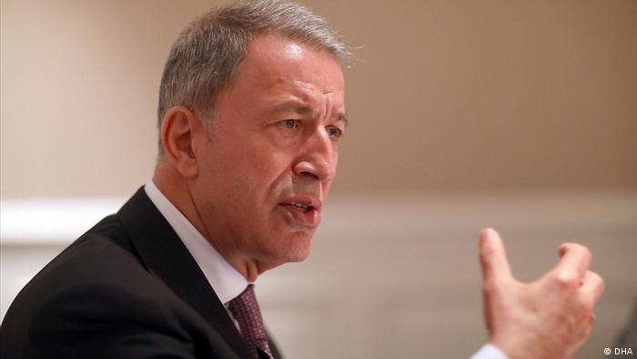 Hulusi Akar - türkischer Verteidigungsminister (DHA)