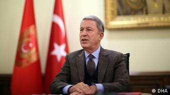 Ο τούρκος υπ. Άμυνας Χουλουσί Ακάρ