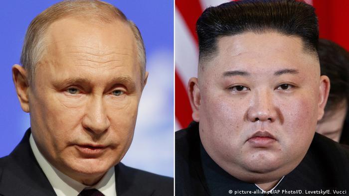 Rusya Devlet Başkanı Vladimir Putin ve Kuzey Kore lideri Kim Jong Un