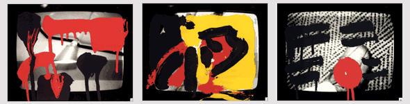 A.R. Penck: Übermalungen (Foto: Archiv Jürgen Schweinebraden)