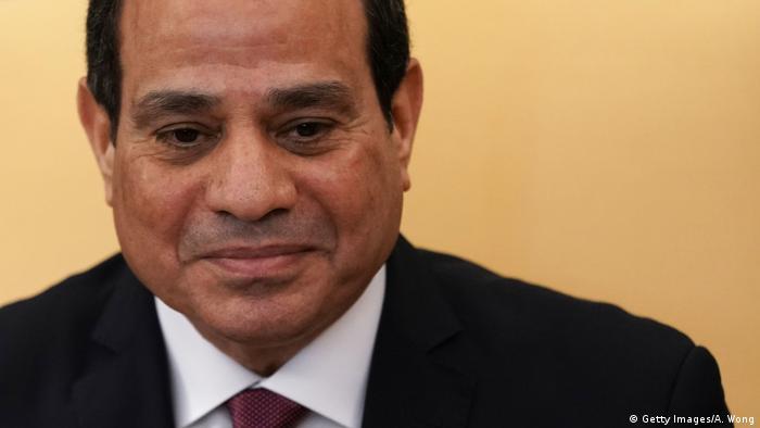 USA Washington - Ägyptens Präsident - Abdel Fattah al-Sisi