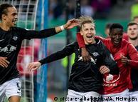 RB Leipzig erstmals im DFB-Pokalfinale