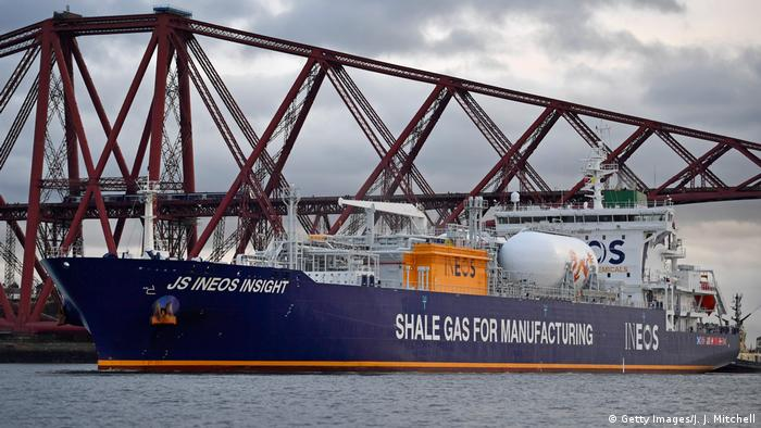 INEOS ship shale gas