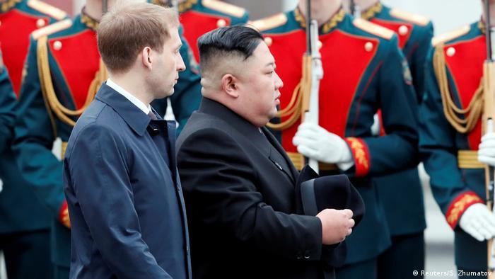 Kim Jong Un in Vladivostok