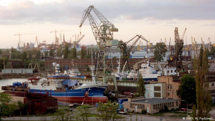 Gdank shipyard