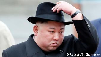 Russland Wladiwostok - Kim Jong Un auf Staatsbesuch in Russland