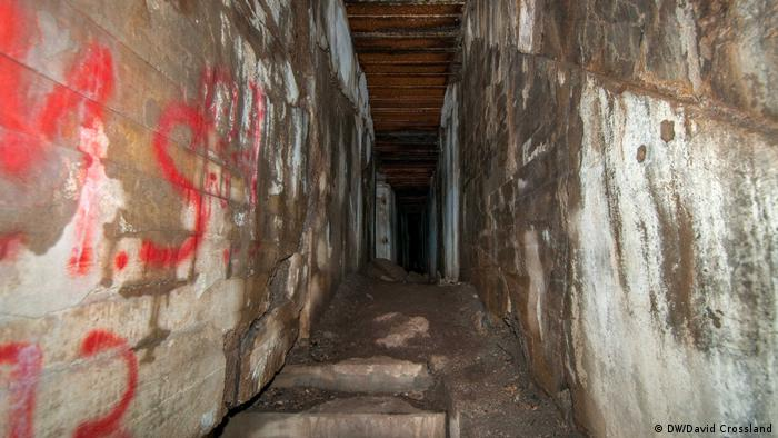 Вътрешността на бункера на Мартин Борман