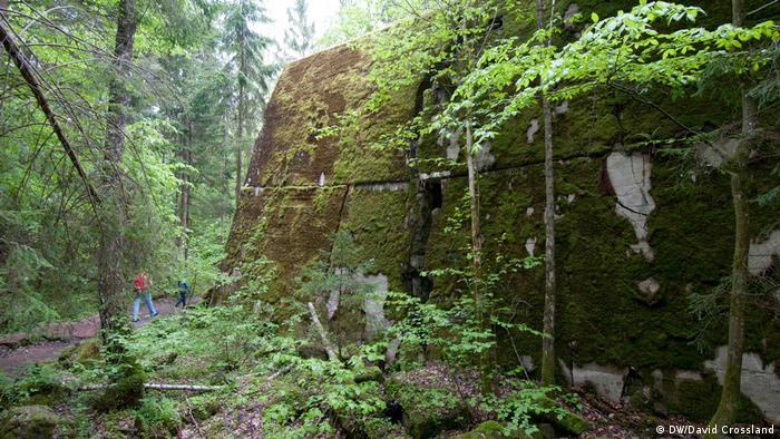 Wolfsschanze, ou A Toca do Lobo, onde Adolf Hitler passou grande parte da guerra