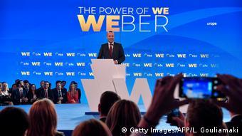 Από το Ζάππειο αρχίζει την προεκλογική του εκστρατεία για την προεδρία της Κομισιόν ο Μάνφρεντ Βέμπερ