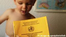 Impfung gegen Masern, Impfen Impfausweis und Spritze