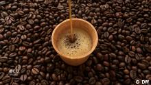 24.4.2019, Stills aus der DW-Sendung EcoIndia 2019, Alle Bilder sind der ecoindia Sendung 27 entnommen, edible coffee cup