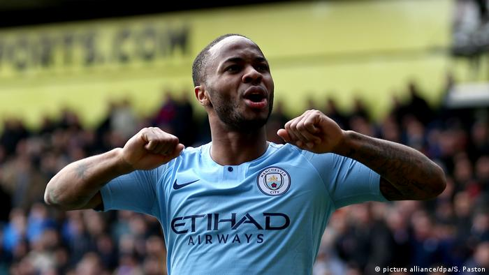 Fussball l Spieler Raheem Sterling (picture alliance/dpa/S. Paston)